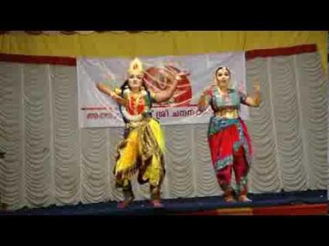 Akhila Sudhir & Deepthi Praveen Dance - Minsara kanna