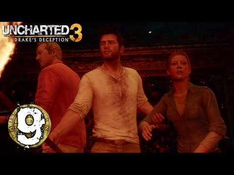 Let's Play Uncharted 3: Drakes Deception - Part 9 - You Sneaky Marlowe