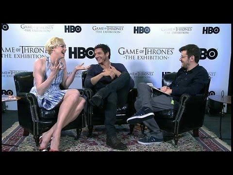 INFO entrevista Gwendoline Christie e Pedro Pascal, Brienne e Oberyn Martel de Game of Thrones