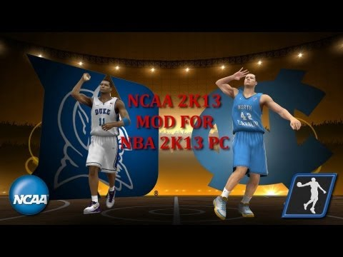 Mod Review - NCAA 2K13 v0.1 for NBA 2K13