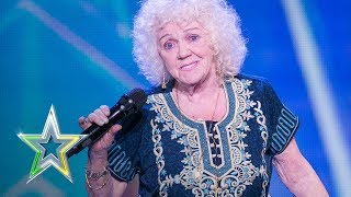 81-year-old Evelyn stuns the judges | Auditions Week 1 | Ireland's Got Talent 2018