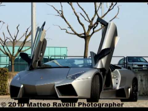 New Lamborghini Reventon Roadster,Engine Sound