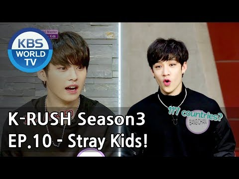 Today's GUEST : Stray Kids! [KBS World Idol Show K-RUSH3 2018.05.18]