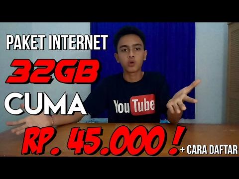 Jual harga paket internet murah xl