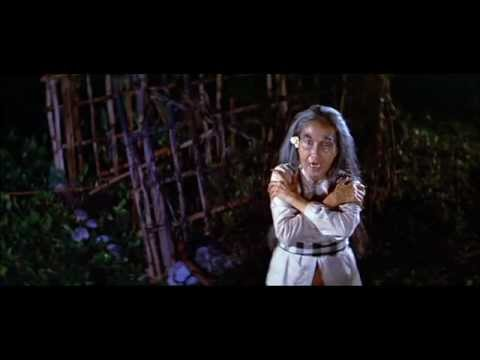 Mystics in Bali (1981) - Attack of the disembodied head, lungs, and intestines!