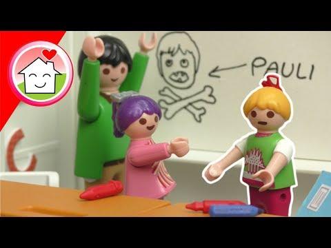 Playmobil Film Familie Hauser - Wer war das? - Spielzeug Geschichte für Kinder