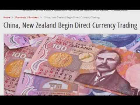 China, New Zealand Begin Direct Currency Trading
