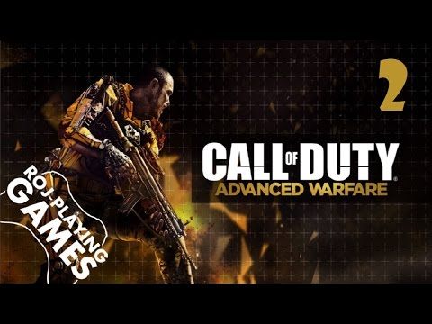 Call of Duty: Advanced Warfare (#2) Kevin Spacey! (Roj-Playing Games!) 1080p60HD GAMEPLAY