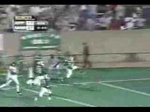 Marshall Thundering Herd - Wallace TD vs Appy St 2002 Video