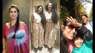 Actress Kasthuri Latest Family Pics | Daughters & Son Unseen Pics