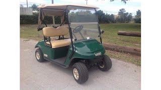 custom 2016 EZGO golf cart (photo slideshow)