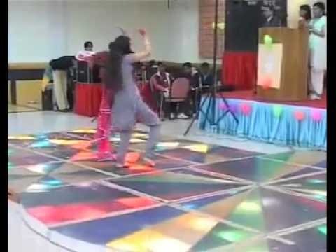 pakistani girl dancing in a private party...