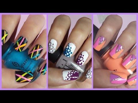 Easy Nail Art For Beginners!!! #11