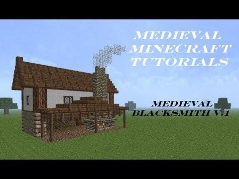 Medieval Minecraft Tutorial 3 Blacksmith YouTube