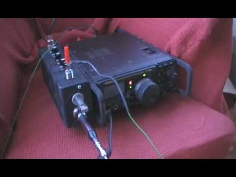 Asiatic Russia (RK9DM) with an indoor random wire antenna
