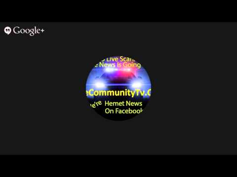 Hemet News Live stream Online Scanners Hosted by The Crazy Guy With The Lazy Eye With Hemetnews.o...