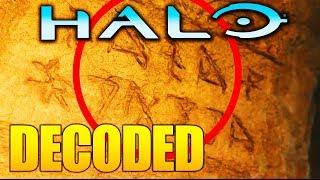Halo Infinite TEXT DE-CODED! New HIDDEN CLUE IN TRAILER!