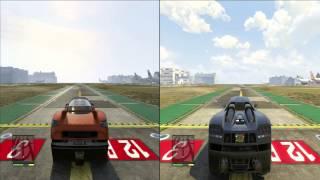 """GTA 5: Fastest legendary cars drag race! """"adder vs coil vs entity XF"""""""