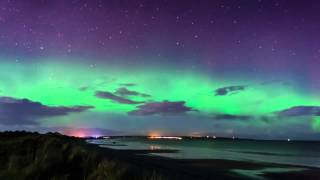 Aurora from Reiss Beach on 24/11/12