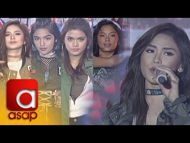 """ASAP: Sarah Geronimo and ASAP BFF5 perform Katy Perry's """"Chained To The Rhythm"""""""