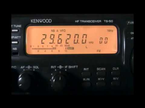 KQ2H Amateur Radio repeater (New York, NY, USA) - CW and phone ID - 29620 kHz (FM)