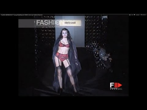 """ALENA SEREDOVA"" Young Modelling for MOMI Intimo by FashionChannel"