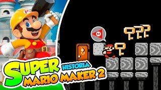 ¡Trolleado por un adoquín! - #20 - Super Mario Maker 2 (Historia) DSimphony