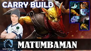 MATUMBAMAN - Bounty Hunter Safelane | CARRY BUILD 7.17 Update Patch | Dota 2 Pro MMR Gameplay