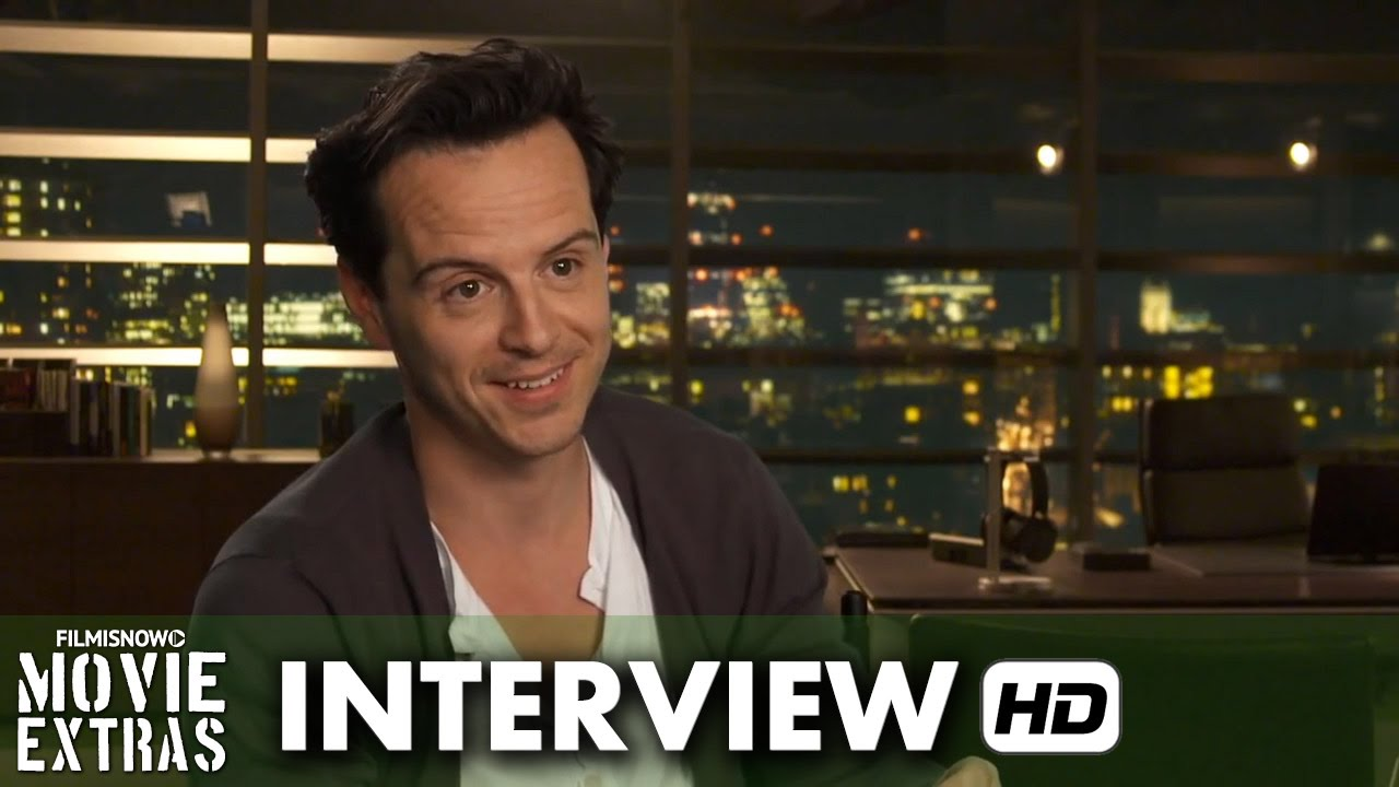Spectre (2015) Behind the Scenes Movie Interview - Andrew Scott is 'Denbigh'