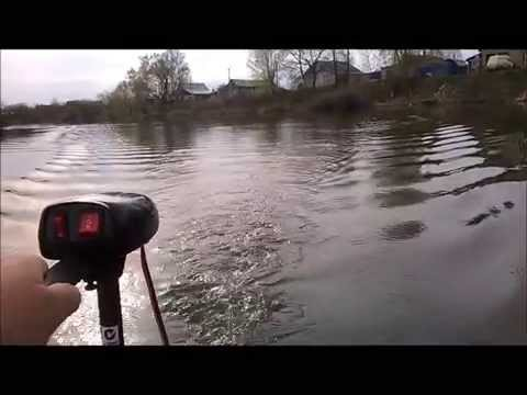 подвесной лодочный электромотор watersnake t18