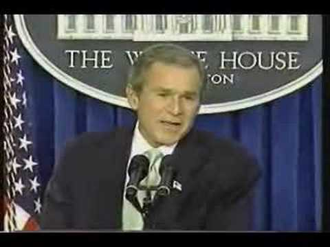 Bush: Truly not concerned about bin Laden (short version)