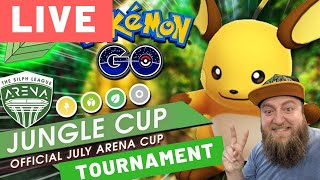 Beedrill 5-0 Pokemon Go Jungle Cup Tournament Livestream