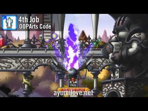 Ayumilove MapleStory Xenon 1st 2nd 3rd 4th Job Skill Preview