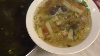 Рыбный суп- уха из радужной форели,fish soup