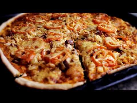 Как готовить пиццу - рецепт - видео
