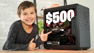 6-Year old Builds $500 Budget Gaming PC - Build Guide!