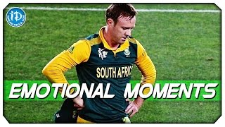Emotional Moments | South Africa vs New Zealand | 1st Semi-Final | World Cup 2015