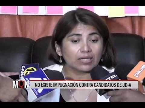 03/03/2015-19:28 NO EXISTE IMPUGNACIÓN CONTRA CANDIDATOS DE UD A