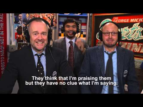 Manny Pacquiao's Men in Blazers Message to the Philippines