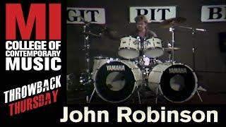 John Robinson - Musicians Institute(MI)がMIにて行われた52分のドラム・クリニック映像を公開 thm Music info Clip