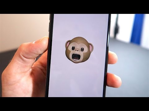 iPhone X - Animoji (Animated Emojis)