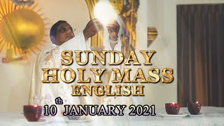 SUNDAY MASS ENGLISH - 10 01 2021