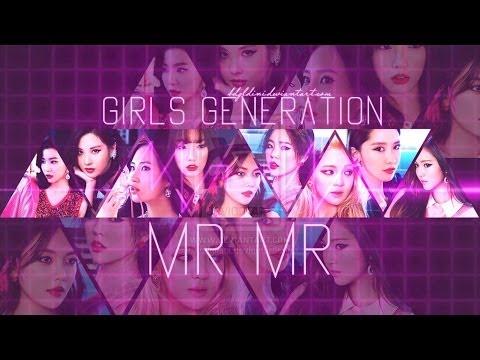 Girls Generation mr mr Album Cover Girls' Generation/snsd mr mr