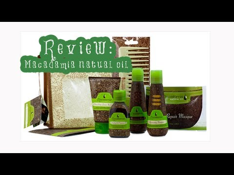 ❤REVIEW: MACADAMIA NATURAL OIL