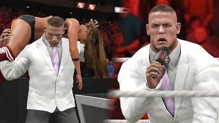 WWE 2K17 Story - John Cena Turns on Nikki Bella