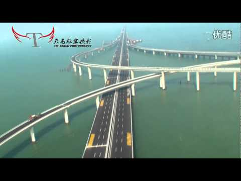 ����湾跨海大桥 Qingdao Jiaozhou Bay Bridge