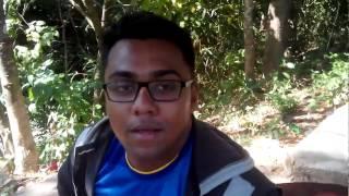 Easy way to climb the stairs of shosro dhara jhorna  by Rumman & Sabbir :) Funny video