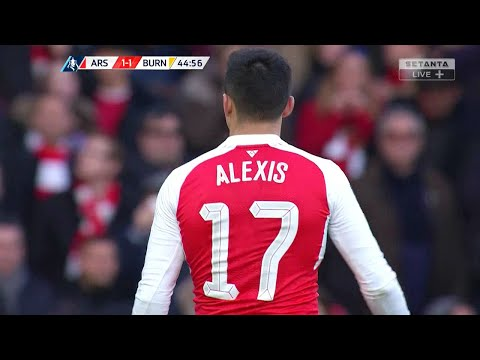 Alexis Sanchez vs Burnley (Home) 15-16 HD 720p - English Commentary