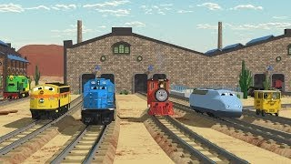 Download The Number Adventure at the Train Factory with Shawn and Team! - Full Cartoon 3Gp Mp4