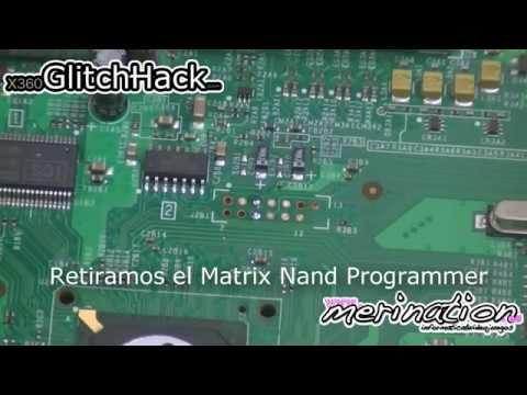 TUTORIAL - Matrix Nand Programmer  Matrix Glitcher 360, Glitch Hack, Instalación, Configuración